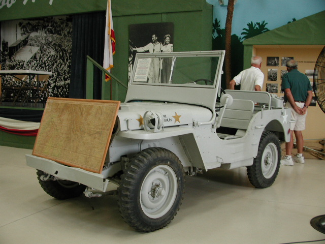 Composite WWII Jeep at Palm Springs Air Museum