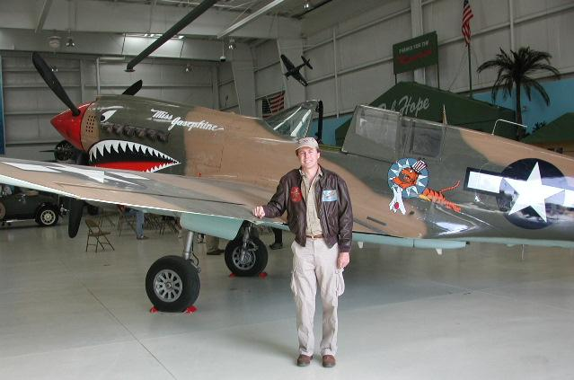 Palm Springs Air Museum's P-40 and Me