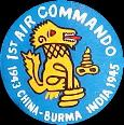 1st Air Commando Group, CBI  1943 - 1945