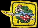 432nd Fighter SQ., 475th Fighter Group, 5th AAF  Satan's Angels - Clover  So. Pacific   felt