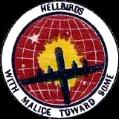 462nd Bomb Group, Hellbirds  With Malcice Toward Some