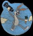486th Bomb Squadron, 340th Bomb Group, 12AF B-25    Late - Post war   'Bugs Bunny'