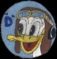 AAF School, Pilot, Contract Civilian Pilot Training, D SQ. Donald Duck SQ   Walt Disney